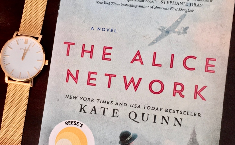 Book review:  the alice network by katequinn